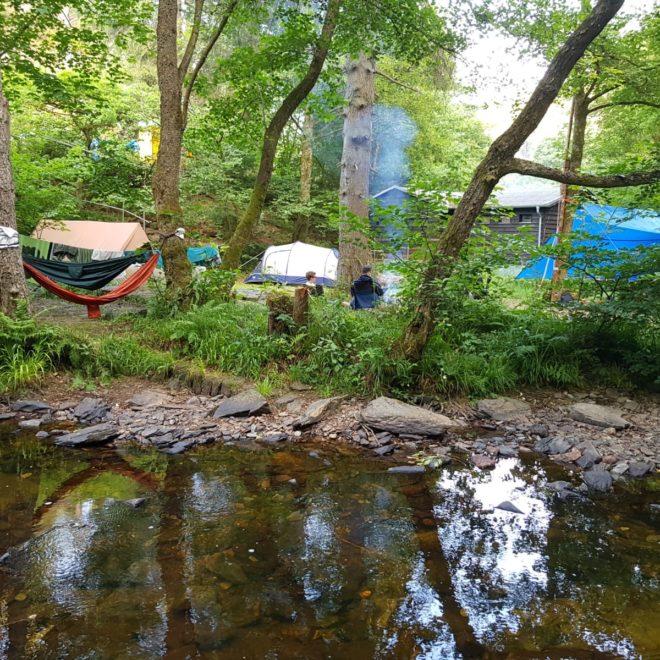 Rowans op kamp in Wiltz
