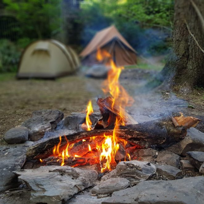 Scouting in Zandvoort - op kamp