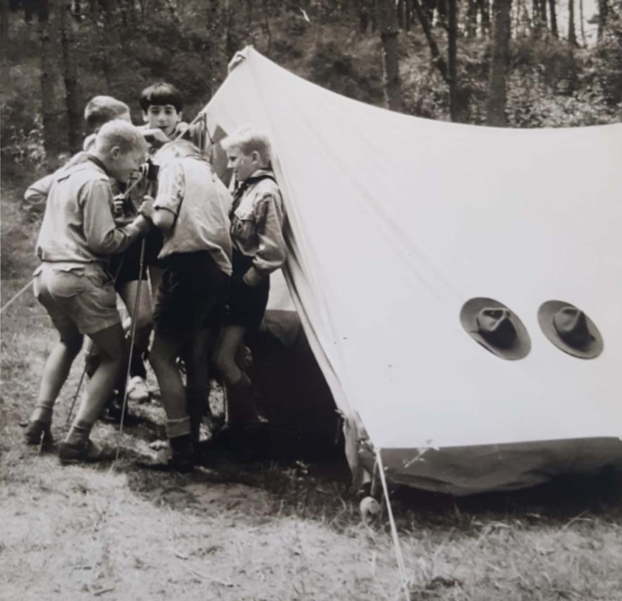 Reünie - Scouting Stella Maris - St. Willibrordus Zandvoort