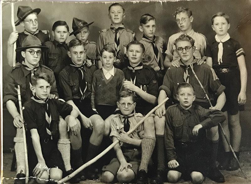 1947 - Verkenners- Reünie Scouting Stella Maris - St. Willibrordus