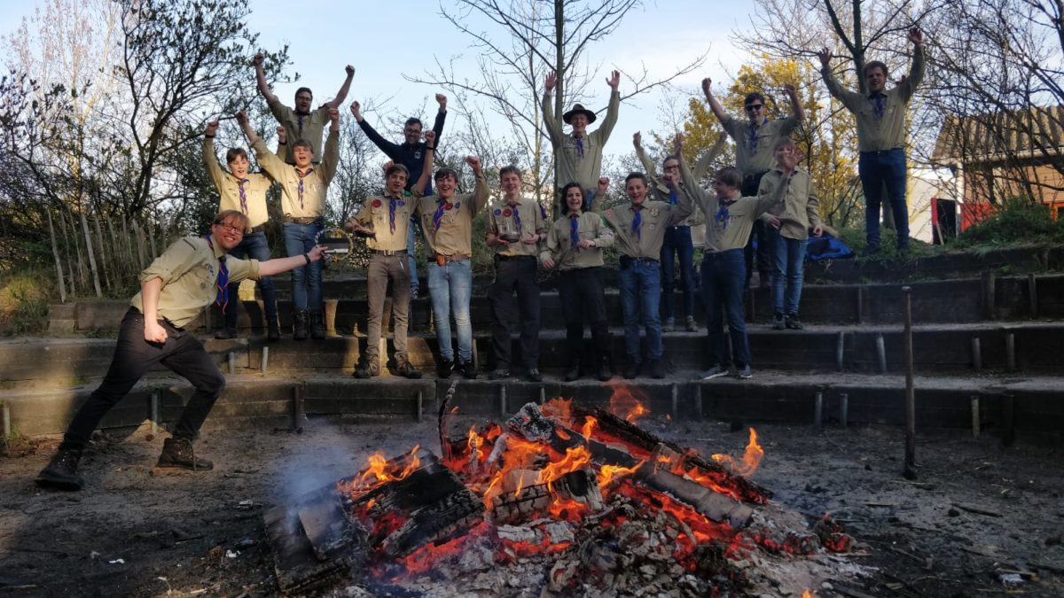 Beste scouts van regio Haarlem